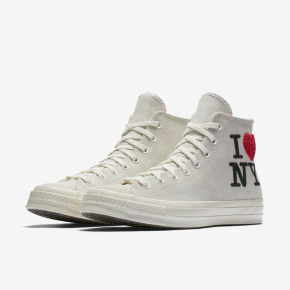 klasyczne buty niska cena najlepszy dostawca Converse Chuck Taylor 70 I Love NY High Top NWT